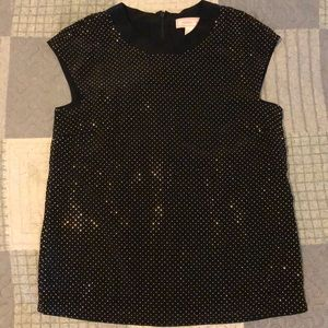 Versace x H&M Collaboration Gold Studded Top